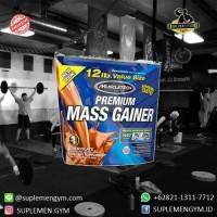 Muscletech premium mass gainer 12 lb whey protein