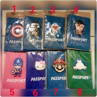 Passport Case Biasa dan Motif
