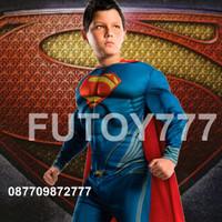 Jual Baju kostum anak Superman Super Man Superhero Super Hero ulang tahun Murah