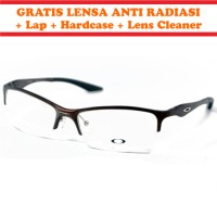 Frame Kacamata Minus Anti Radiasi OAKLEY KW DUCATI Coklat