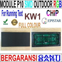 TERMURAHHH Modul Module running text LED P10 SMD Outdoor RGB KW 1