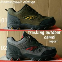 Sepatu nike camel tracking outdoor adventure sepatu gunung