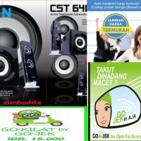 Jual Speaker Simbadda CST 6400N 32W RMS 2.1 Murah