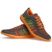 Sepatu Running Keta 181 Air Max Grey Orange - Outdoor/Running/Olahrag