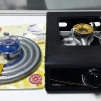 harga Kompor Tecstar 1 Tungku Burner Kuningan + Selang Gas Regulator Sni Tokopedia.com
