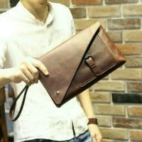 Tas tangan / clutch / handbag dompet kulit pria wanita iphone impor