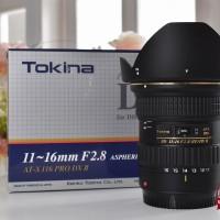 [NEW] Tokina AT-X PRO 11-16mm f/2.8 DX II for Canon @Gudang Kamera MLG