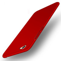 Casing Cover HP Vivo V5/ V5 Lite Baby Skin Ultra Thin Hard Case Red 12