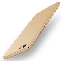 Casing Cover HP Vivo V5/ V5 Lite Baby Skin Ultra Thin Hard Case Gold 1