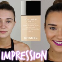 Chanel Vitalumiere AQUA ULTRA-LIGHT SKIN Foundation Original 100%