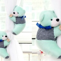 holder pengikat gorden gordyn gordin curtain teddy bear isi 2 A