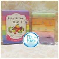 FRUITAMIN SOAP 10 in 1 by WINK WHITE / Sabun Pemutih Badan