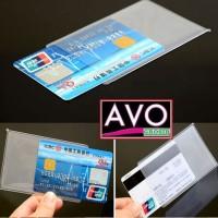 Plastik pelindung ATM / SIM / KTP / plastic cover