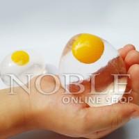 Splat Egg-Squishy-Squeeze Stress Ball-Sekuisi Telor-Telur Mainan-CP0