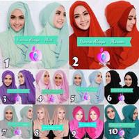 Jual Jilbab/Hijab Syari Terbaru Instant Hanna Alesya Murah