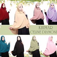 Jual Jilbab/Hijab Rabbani Khimar Celine Diamond Murah