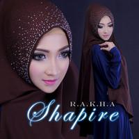 Jual Hijab syari / Hijab terbaru Khimar Shapire Murah