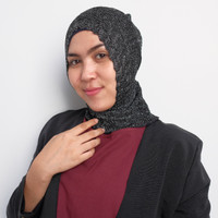 Jual Jilbab rabbani / Jilbab terbaru terbaru Inner Rajut Glitter Antem Kode Murah