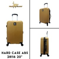 "Polo Milano Koper Hard Case ABS 28116 20"" Gold Cabin Sized"