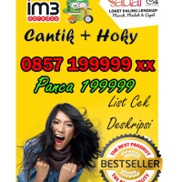 Nomor Cantik im3 Indosat Panca 199999 0857 199999 xx cek