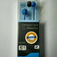 ORIGINAL 100% SENNHEISER CX 213 Earphone Headset Bisa Samsung Oppo dll