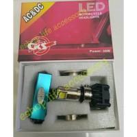 Lampu utama LED 3 sisi mata arus AC DC pnp semua jenis headlamp moto