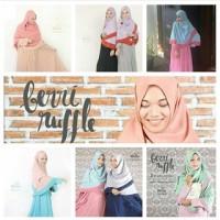 Berri ruffle Size M / Hijab alila Murah