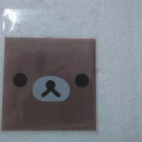 Jual [termurah] Fancy Plastic Rilakuma Face + Seal 20pcs Murah