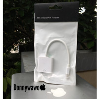Kabel Mini Display Minidisplay Port To Vga Macbook Pro Air iMac white