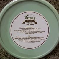 Jual [termurah] Nature Organic - Lulur Wajah Green Tea 250gr Murah