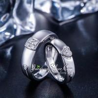 Jual Cincin Couple, Pasangan, Perak, Palladium, Emas, Nikah, Kawin 1136 Murah