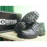 Harga sepatu safety boygie kulit b005 kantor dan | WIKIPRICE INDONESIA