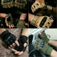 sarung tangan Glove hand Tactical Army Outdoor Bikers motor