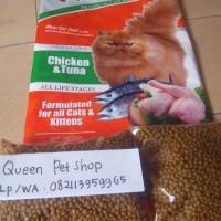 Jual Makanan Kucing Maxi kemasan repack 1 kg Murah