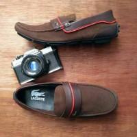 Jual Sepatu Santai Casual Pria | Lacoste Suede | Slip On Murah adidas nike Murah
