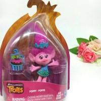 Mainan Figurine Trolls Boneka Poppy