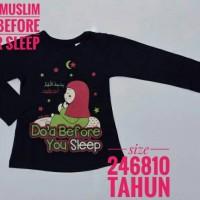 1 2 3 4 tahun baju anak perempuan muslim doa before your sleep