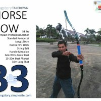 BUSUR PANAH HORSE BOW FULL PVC Made In WingStory