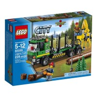 LEGO CITY 60059 : Logging Truck