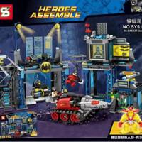 Batman The Batcave Bat Cave Lego 6860 KW SY 513