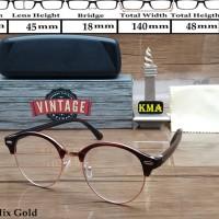 Kacamata Frame korea VINTAGE kacamata minus frame club master Vintage 64389b1e25