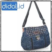Tas Wanita - Shoulder Bag - Tas Pundak Denim - Jeans GLFR 2143 FG