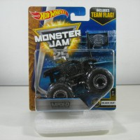 hot wheels monster jam max D maximum destruction black with team flag
