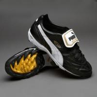 Sepatu Futsal Puma King Allround Turf Black White Original