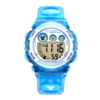 Disney Ms1530 Blue Mickey Jam Tangan Sports Anak Original