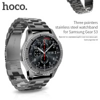 3 Pointer Metal Strap Hoco Band for Samsung Gear S3 / Asus Zenwatch 2