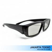 Lcd Plastic Circular Polarized 3D Glasses Lg Tv Or Real 3D Cinema