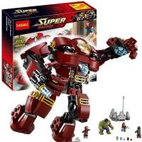 Jual Lego Lele Ironman Hulkbuster Iron Man Hulk Buster Bootleg 76031 (79081 Murah