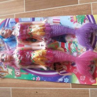 MAINAN BONEKA BARBIE DUYUNG MERMAID ISI 2