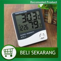 Hygrometer Thermometer HTC-1 Higrometer Termometer Ruangan Digital LCD